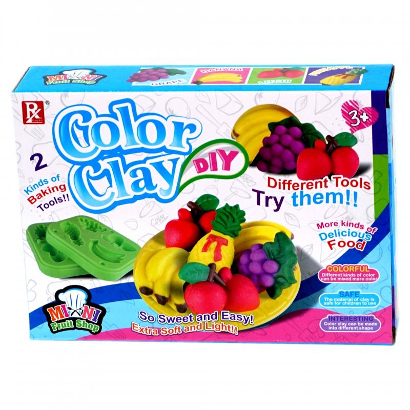 Ծեփախմոր Տուփով Color Clay AH-3615+ Ֆորմա 728B