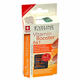 Մանիկյուռ Eveline N/T Vitamin Booster 6 in 1 12մլ